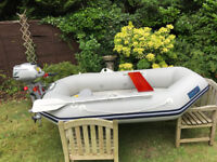 Boat Tender Dinghy with Honda 2.3hp Outboard