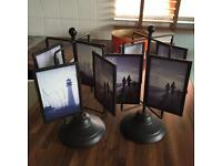 2 PHOTO FRAME CAROUSELS