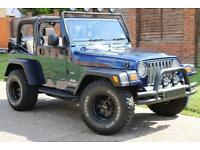 JEEP WRANGLER EXTREME SPORT VERY HIGH SPEC JEEP FULL HISTORY AND SUPERB THROUGHO
