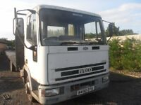 IVECO CARGO 75E14 7.5 TONNE FLAT BED N REG SPARES OR REPAIR NO TEST