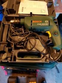 Bosch hammer drill 550w