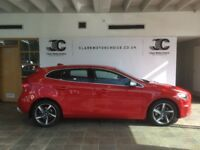 Volvo V40 D4 R-DESIGN (red) 2013-12-22