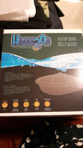 Hydra20R - Deepdish stainless float livestock water bowl