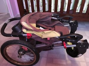 Jogger stroller expedition