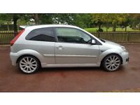 Fiesta ST, 12 MONTHS MOT, lowered, tints, e/w, heated leather seats, car is in good condition.