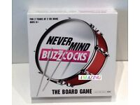NEVER MIND THE BUZZCOCKS - MUSIC BOARD GAME BASED ON THE TV SHOW - UNOPENED