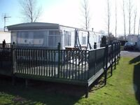 Caravan sleep 10 to rent for a good holiday at Southview Skegness