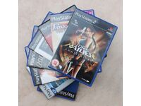 EXCELLENT PS2 retro games, fab condition.