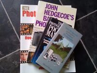 4 X photography books