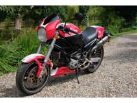 Ducati Monster 800 Naked Motorcycle Cafe Racer (A2 restriction possible)