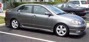 2007 TOYOTA COROLLA 4 DOOR, AUTOMATIC