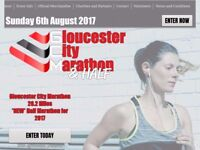 Gloucester Half Marathon Place Available for Sunday 6th August 2017