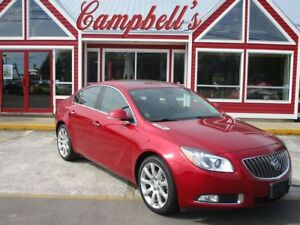 2013 Buick Regal Turbo SUNROOF NAV HTD LEATHER