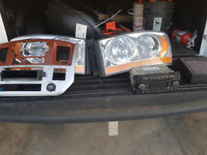 2006 ram 3500 factory headlights.