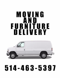 Moving & Furniture Delivery - 1-Hour Minimum