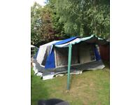 Cabanon Montpellier II tent + canopy