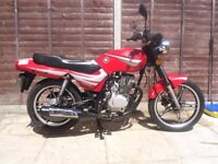 shineray xy125 125cc 125 cc , fully serviced, 11 months mot, low mileage