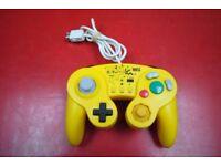 Nintendo Wii U Classic Controller Pikachu £15
