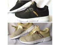 New boxed trainers wholesale gold