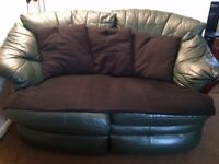 Green Leather Sofa for Free
