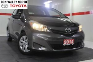 2014 Toyota Yaris CONVENIENCE PKG Btooth Pwr Wndws Mirrs Locks A