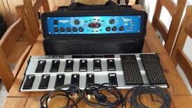 V AMP PRO and FCB1010 pedal board complete effects setup in excellent condition