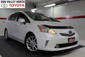 2014 Toyota Prius v TOURING & TECHNOLOGY PKG Sunroof Nav BU Cam