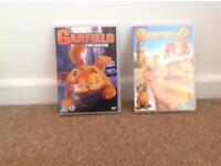 2 Garfield DVD's