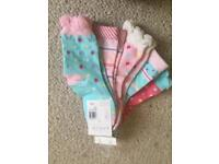 BNWT JL Pack of 5 socks for girls age 2-3