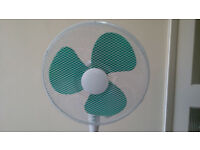 Almost new 16 Inch Pedestal Floor Fan