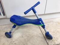 Kids Blue Scuttlebug Trike Scooter