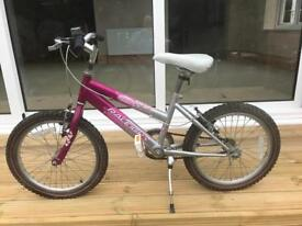 Child's Raleigh Krush bike