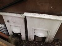 Fireplaces old very heavy 2