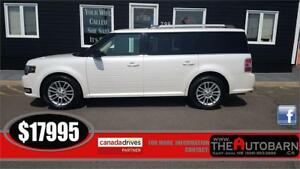2013 FORD FLEX SEL - FWD, 7 Passenger, Cruise, Bluetooth.
