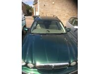 X-type Jaguar 2.0 diesel SE Estate - Manual - Emerald Green - Great Car