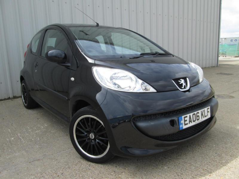 2006 PEUGEOT 107 1.0 12V URBAN BLACK MANUAL PETROL ELECTRIC WINDOWS