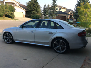 2013 Audi S4 with 417 HP and very low kms