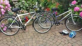 Man and woman's bike
