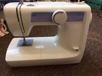 Fully working sewing machine, barely used: Brand - JM3 CB12.