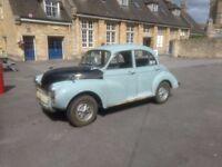 1962 Morris Minor 1000 (4dr)