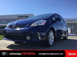 Toyota Certified 2014 Toyota Prius v Tech PKG - PARKS ITSELF!
