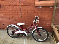 Apollow girls Cruzer bike