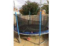 Free 10 foot trampoline buyer must dismantle