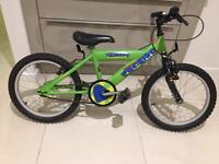 "Kids bike 18"" wheels suit ages 4-8yrs child girl boy"