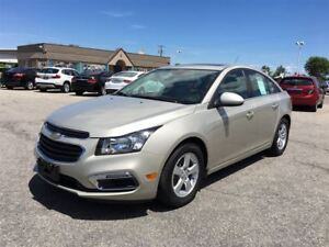 2015 Chevrolet Cruze 2LT/ LEATHER / SUNROOF / HEATED SEATS