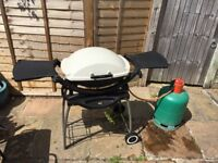 Weber BBQ and full gas canister for sale. Used a handful of times and thoroughly cleaned.