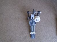 Sonor single bass drum pedal with beater