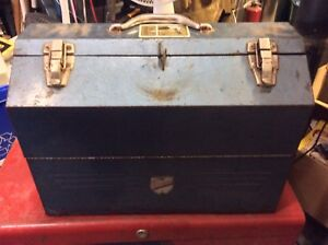 Beach Industries Limited Vintage Tombstone Tool Box