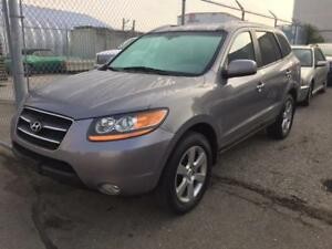 2008 HYUNDAI SANTA FE LTD AWD/ 7 PSGR/LOADED /LEATHER /SUNROOF