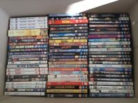 73 Assorted DVD's various titles some box sets